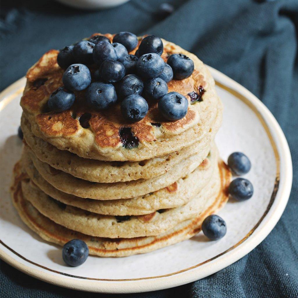 Maximized Blueberry Pancakes